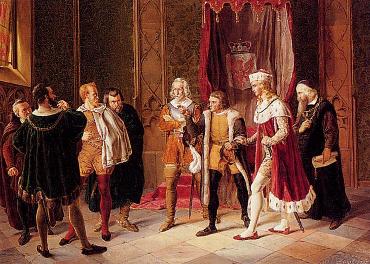 Difficult Negotiations, 1883 - Konstantin Makovsky