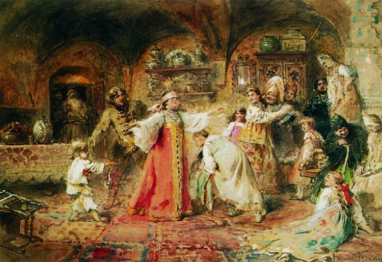Hide and Seek - Konstantin Makovsky