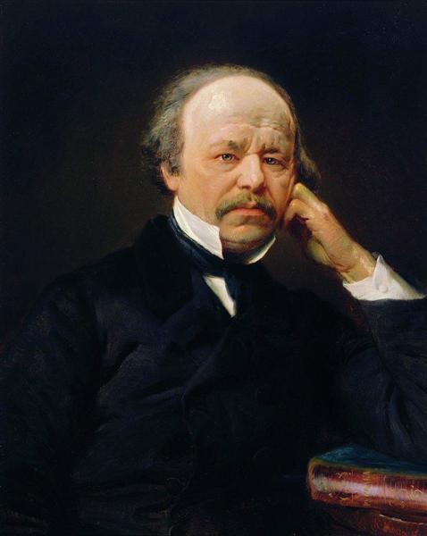 Portrait of the Composer Aleksandr Sergeyvich Dargomyzhsky - Konstantin Makovsky