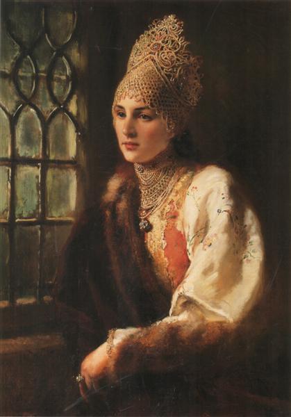 The Boyarynia, 1885 - Konstantin Makovsky