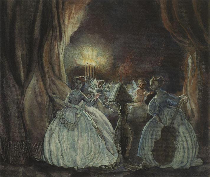 Concert, 1900 - Konstantin Somov