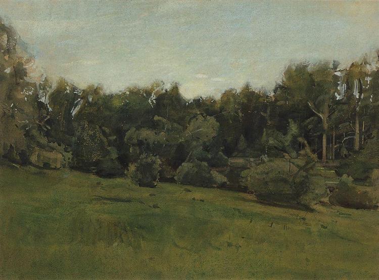 Edge of the Forest. Ligovo, 1894 - Konstantin Somov