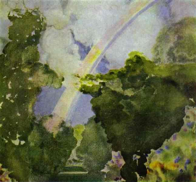 Rainbow, 1908 - Konstantin Somov