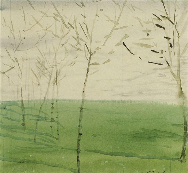 Spring Landscape, 1910 - Konstantin Somov