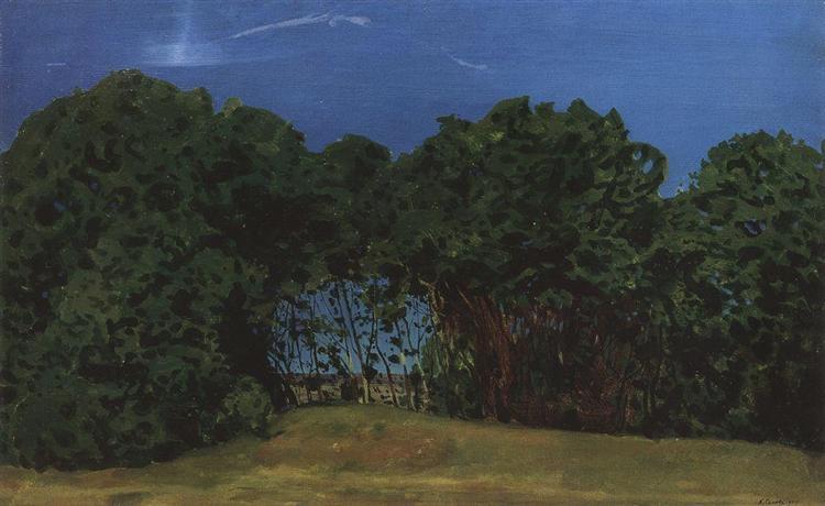 Summer Landscape, 1900 - Konstantin Somov