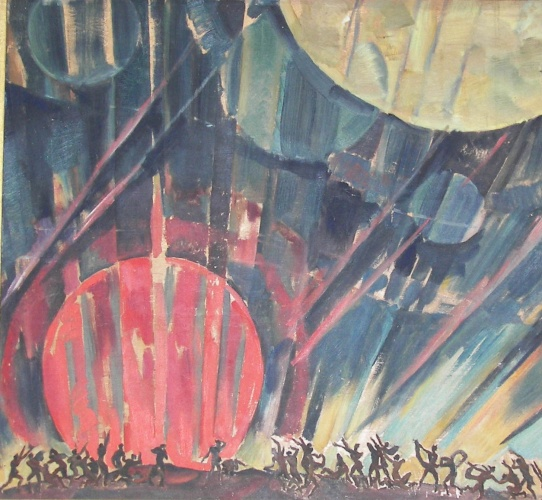 New Planet (New Planet's Borning), 1921 - Konstantin Fjodorowitsch Juon
