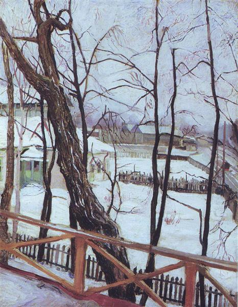 Podmoskovny landscape, 1908 - Konstantin Yuon