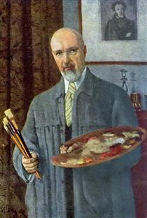 Self-Portrait - Konstantin Yuon