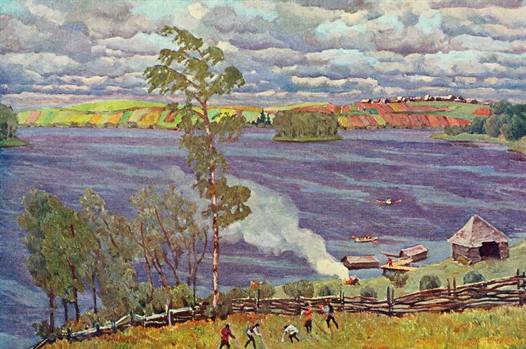 The Lake - Konstantin Yuon