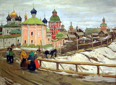To Troyitsa, 1903 - Константин Юон