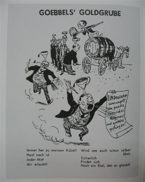 Goebbels' goldmine, 1941 - Kukryniksy