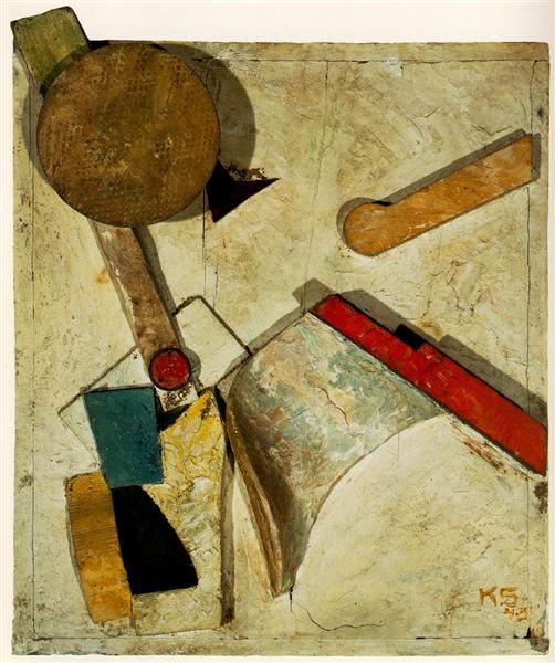 Heavy Relief, 1945 - Kurt Schwitters