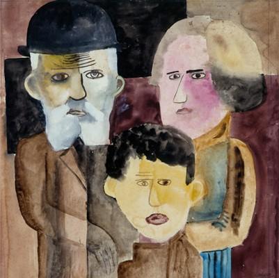 Família, 1922 - Lasar Segall