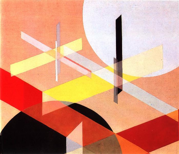 Composition Z VIII, 1924 - Laszlo Moholy-Nagy