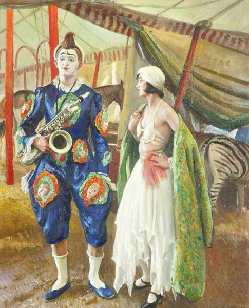 Un payaso Musical - Laura Knight