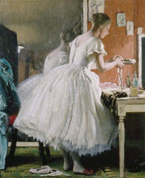 El Ballet de zapatos - Laura Knight