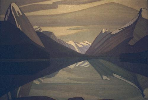 Maligne Lake, Jasper Park, 1924 - Lawren Harris