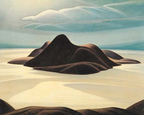 Pic Island, Lake Superior, 1924 - Lawren Harris
