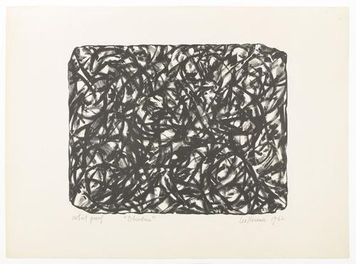 Obsidian, 1962 - Lee Krasner