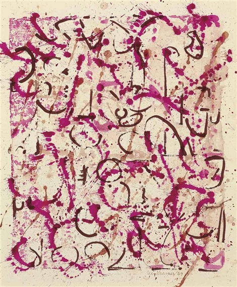 Untitled, 1969 - Lee Krasner