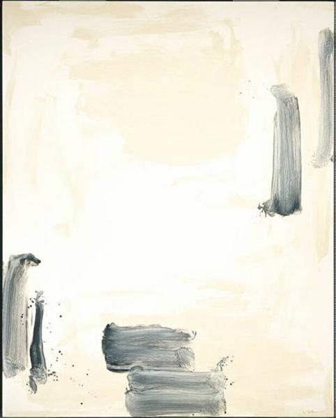 With Winds, 1990 - Lee Ufan