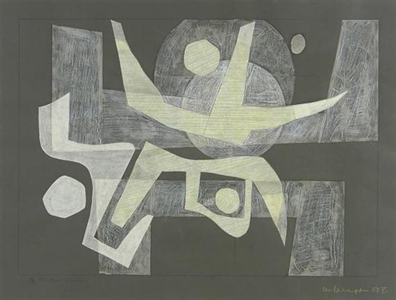 Blancheur diaphane, 1959 - Leo Leuppi