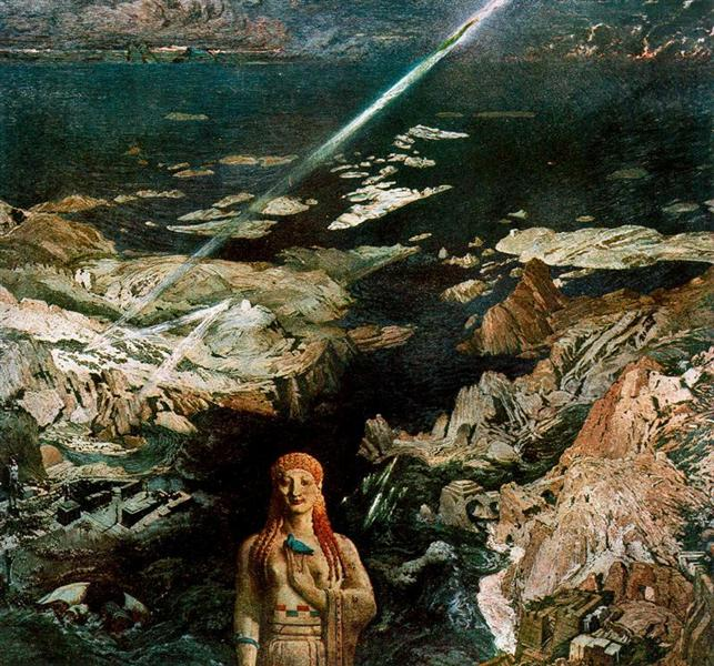 An ancient horror, 1908 - Leon Bakst