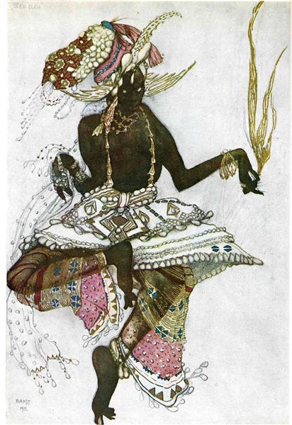 Arabic dancer - Léon Bakst