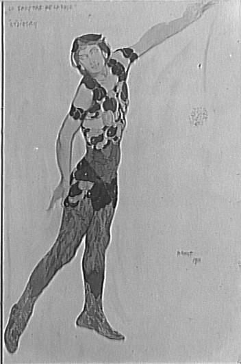 Spectre de laRose, 1911 - Leon Bakst