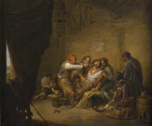 El sacamuelas, 1844 - Leonardo Alenza