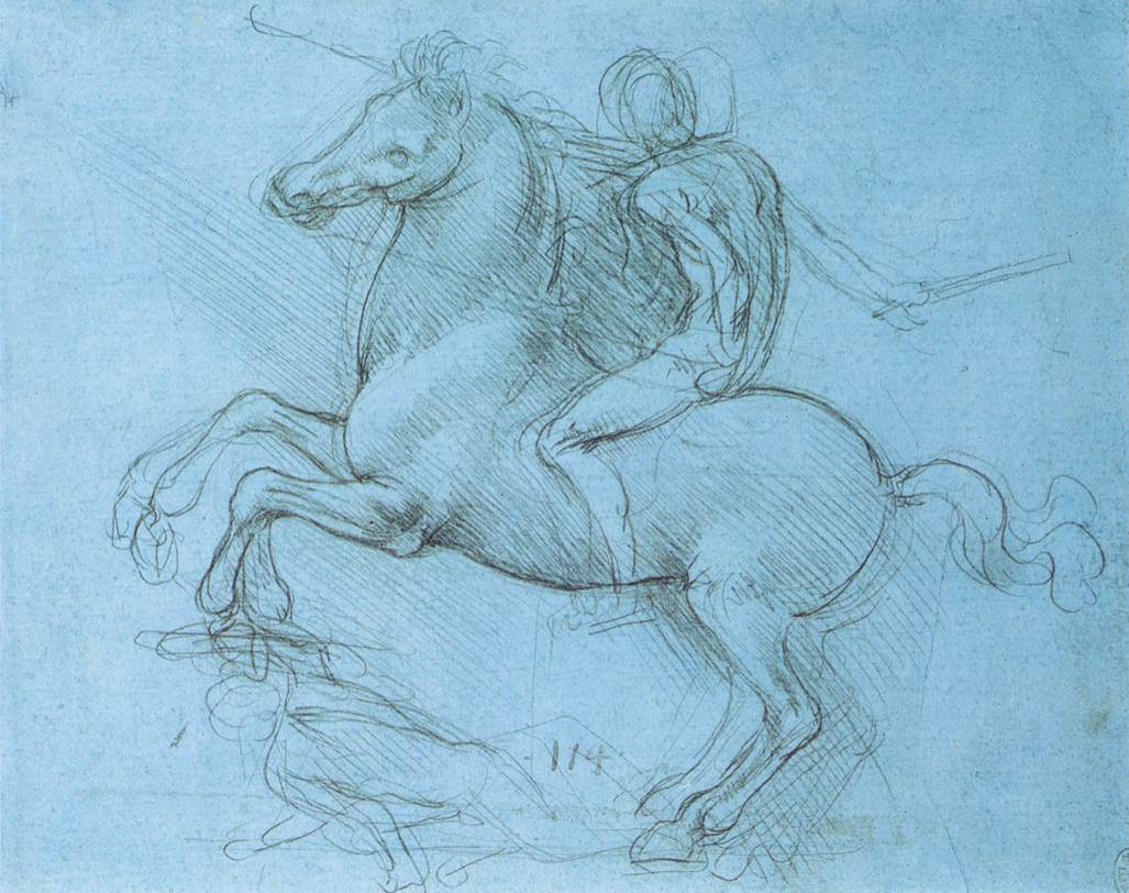 A study for an equestrian monument, 1490
