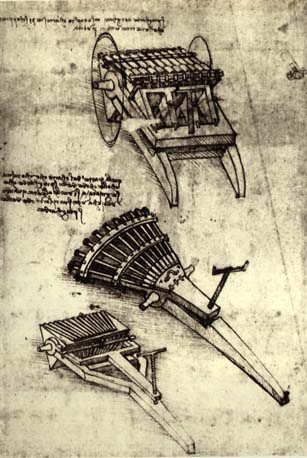 Multi Barrel Gun, 1481
