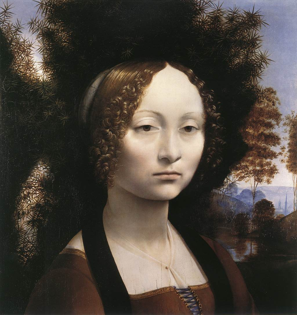 Portrait of Ginevra Benci, 1474
