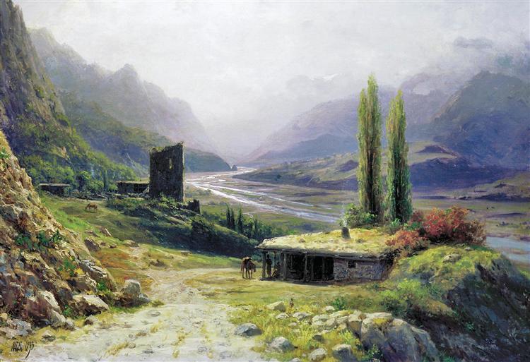 Καυκάσιο φαράγγι, 1893 - Lev Lagorio