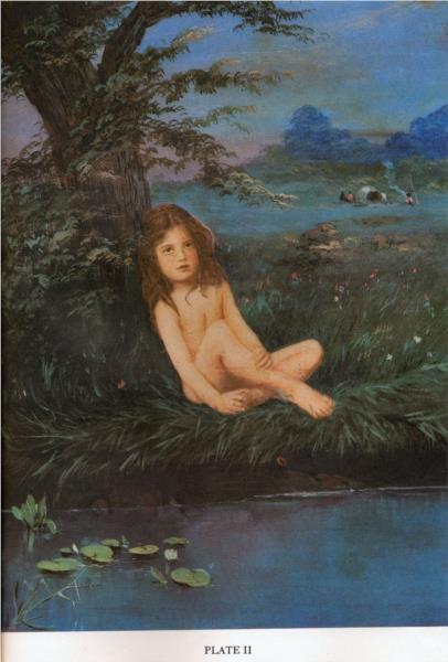 Hatch, Evelyn as a gypsy, 1879 - Lewis Carroll