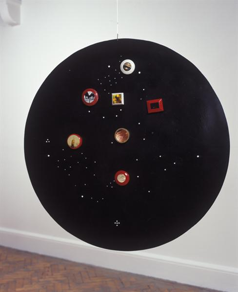 Untitled (Moveable Magnetic Photographic Points on Metallic Disc) - Лі Юань Чіа