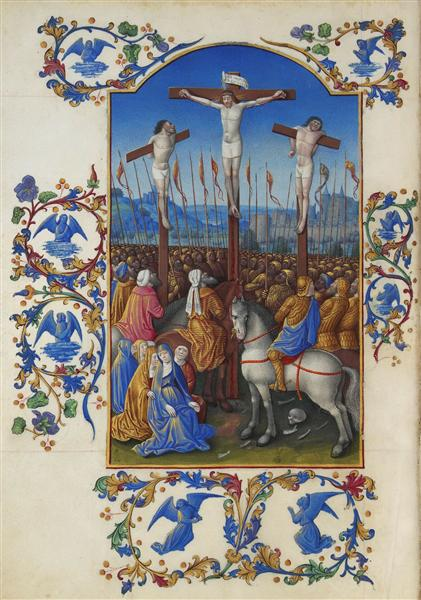 The Crucifixion - Limbourg brothers
