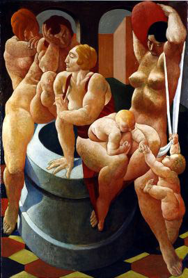 The Fountain, 1923 - Lorser Feitelson