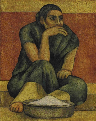 The Bread Maker, 1974 - Louay Kayyali