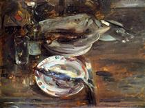 Cat's Breakfast - Lovis Corinth