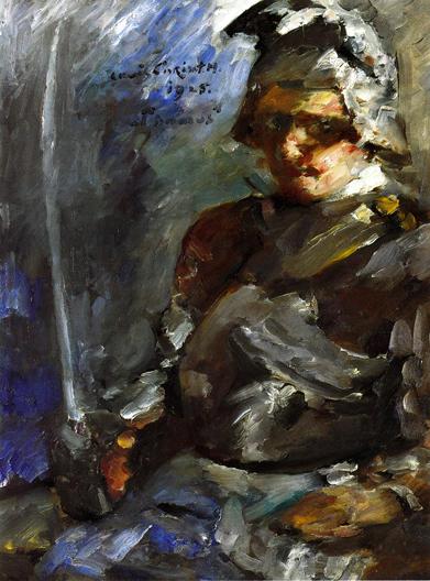 Thomas in Armor, 1925 - Ловис Коринт