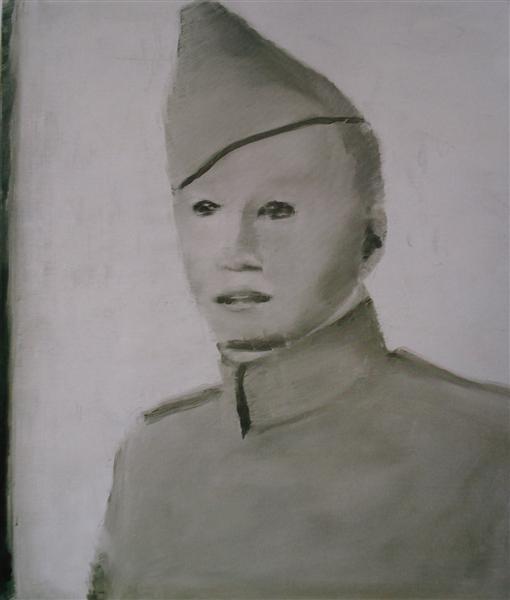 Soldier, 1999 - Luc Tuymans