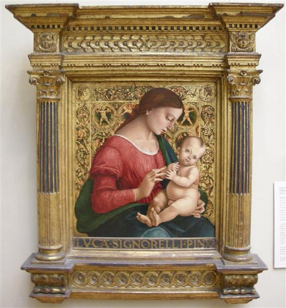 Madonna and Child - Luca Signorelli
