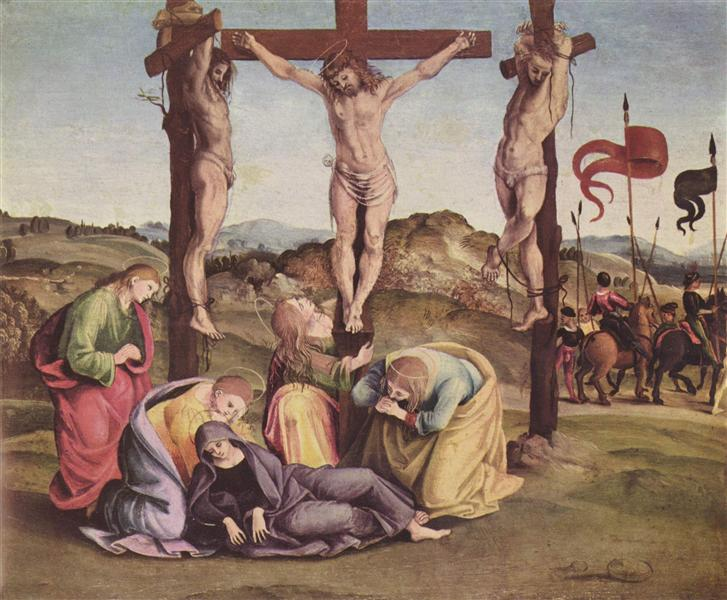 The Crucifixion - Signorelli Luca