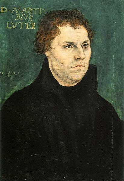 Martin Luther, 1526 - Lucas Cranach the Elder