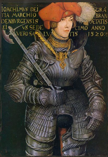 Portrait of Joachim II, 1520 - Lucas Cranach, o Velho