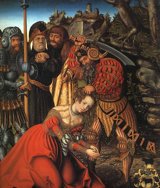 The Martyrdom of St. Barbara, c.1510 - Lucas Cranach der Ältere