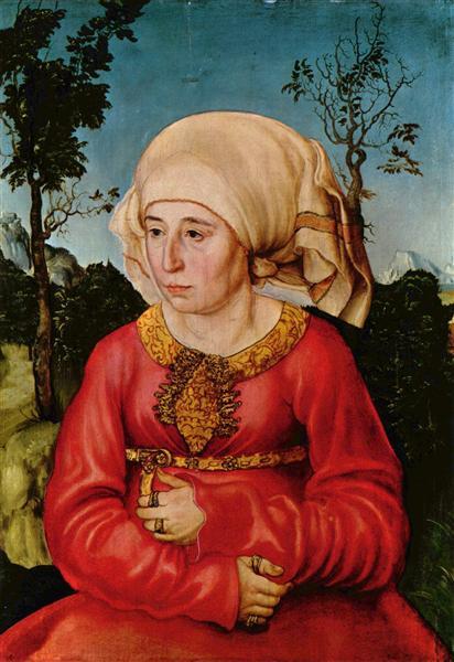 Wife of Dr. Johann Stephan Reuss, 1503 - Lucas Cranach the Elder