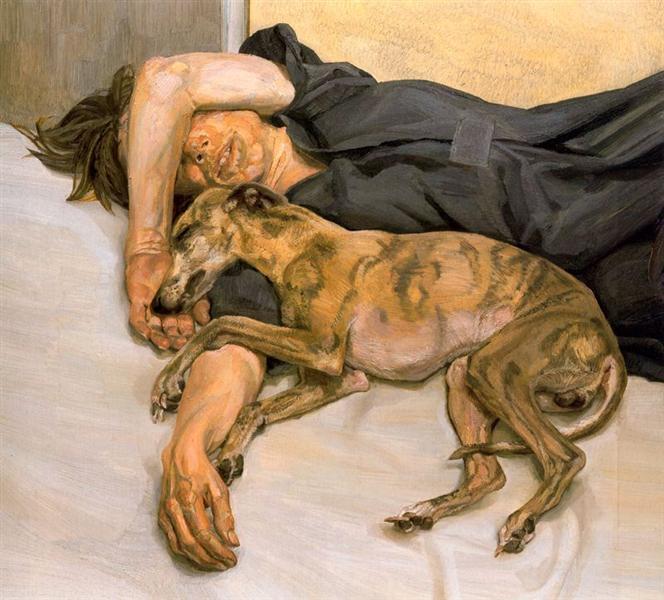 Double Portrait, 1985 - 1986 - Lucian Freud