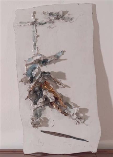 Deposition, 1955 - Lucio Fontana